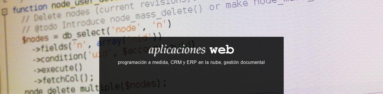 banner programación web a medida