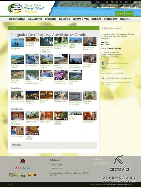 e028c0f65088c Sitio web para Casas Cueva Cazorla