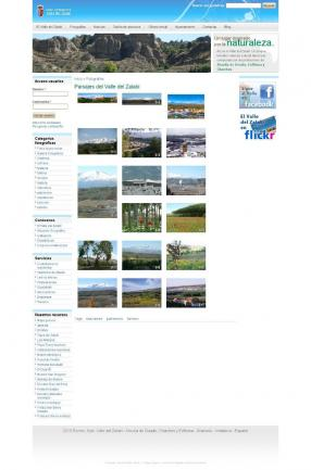 Web fotos valle del zalabi