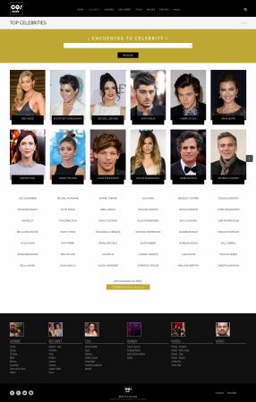 Sección celebrities