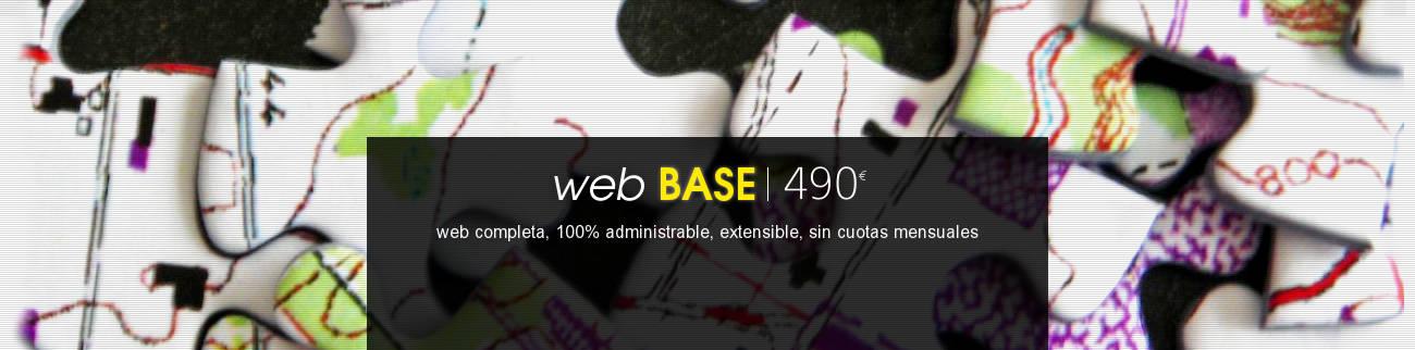 banner diseno web base con Drupal
