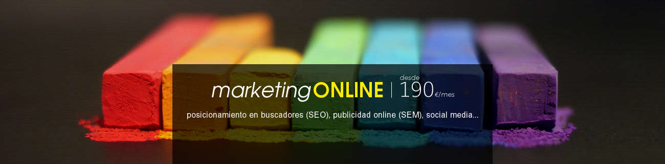 banner servicio gestión web y marketing online